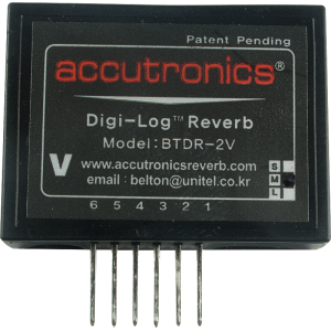 Reverb Module - Accutronics, Digi-Log, Mini, Vertical Mount