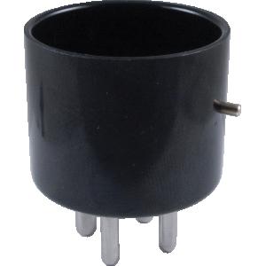Tube Base - 4-Pin