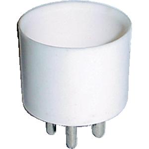 Tube Base - 4-Pin, Ceramic