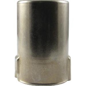 """Tube Shield - 9 Pin Mini, Bayonet, J Slot, 1-1/2"""" Tall, Aluminum"""
