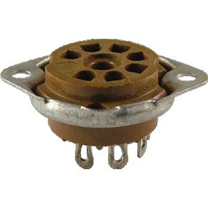 Socket - 7 Pin, Miniature, Micalex, Bottom Mount