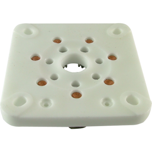 Socket - 7 Pin, Large, Ceramic for 813, Chinese