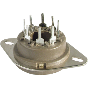 Socket - Belton, 8 Pin Octal, Micalex, MIP, PC Mount