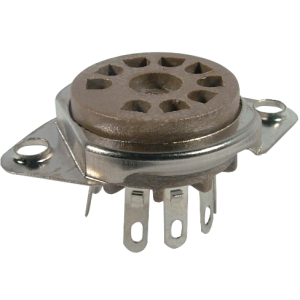 Socket - 9 Pin, Chassis Mount