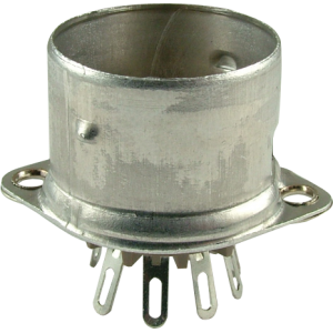 Socket - 9 pin, crimped with shield base, Micalex