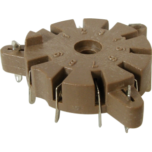 Socket - 9 Pin, for Auto-Wave Soldering, Made in China