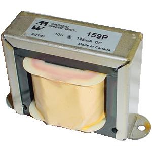 Filter Choke - Hammond, Open Bracket, 10 H, 125 mA