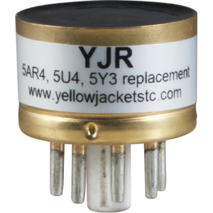 Vacuum Tube - Solid State Tube Rectifier, Yellow Jackets®, YJR
