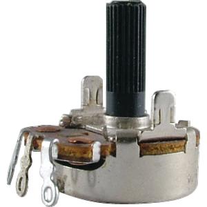 Potentiometer - 100K, Neohm, Linear Taper, Twist Tab Mount