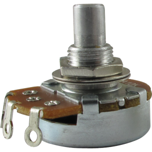 "Potentiometer, Alpha 10K audio, 3/8"" bushing"