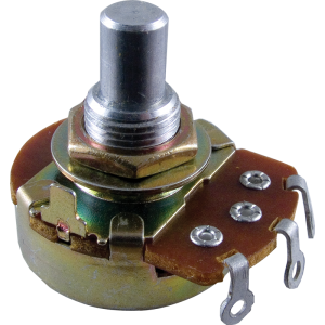 "Potentiometer - Alpha, Linear, 3/8"" Bushing"