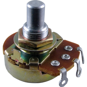 "Potentiometer, Alpha 1 Meg audio, 3/8"" bushing"