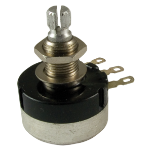 Potentiometer - 500K Audio, Sealed, 24mm Knurled Shaft