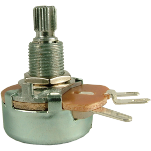Potentiometer - 100Ω, Linear, Knurled, 5W, Wirewound, 24mm