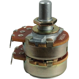 Potentiometer - Alpha, Dual, 100K, Audio/Log