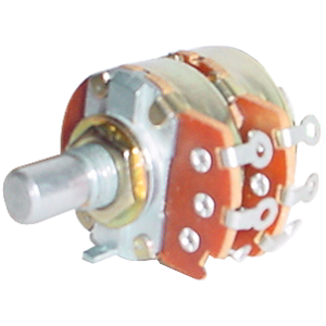 Potentiometer - Alpha, Dual, 50K, Audio/Log