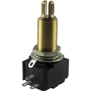 Potentiometer - Bourns, Linear, Knurled, Conductive Polymer