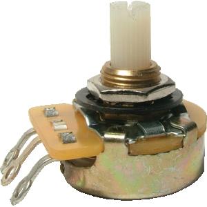 Potentiometer - CTS, Audio, Splined Nylon Shaft