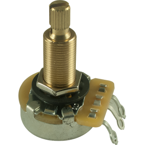 "Potentiometer - CTS, 500K, Audio, Knurled Shaft, 3/4"" Bushing"