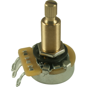 "Potentiometer - CTS, 500K, Linear, Knurled Shaft, 3/4"" Bushing"
