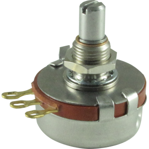 Potentiometer - Precision Electronics, 500K Linear, 24mm, Slotted Shaft