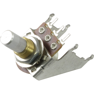 Potentiometer - 16mm, Snap-In, with Bracket, 10KA, Solid Shaft