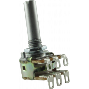 Potentiometer - Wah Pot Replacement for Ibanez 16mm Dual 500K/50K Linear