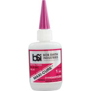 Adhesive - Bob Smith Industries, Maxi-Cure Extra Thick Cyanoacrylate