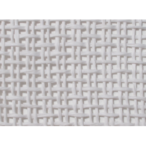"Grill Cloth, Basket Weave, White, 42"" Wide"