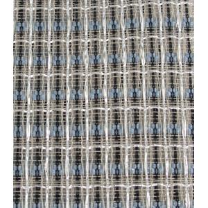 "Grill Cloth - Blue/White/Silver, 59"" Wide"
