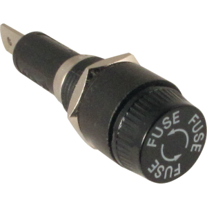 Fuse Holder - High Quality, used with 3AG-type fuses