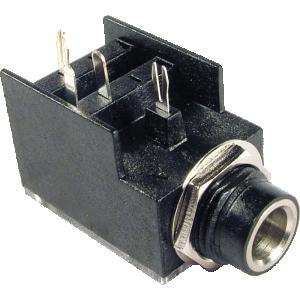 "Jack - Input, Original Fender® 1/4"", 4 Pin, Mono"