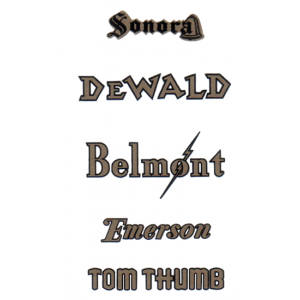 Decal - Emerson/ Dewald / Sonora