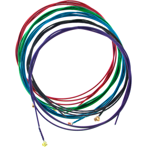 Electric Guitar Strings - Arkay, Colored
