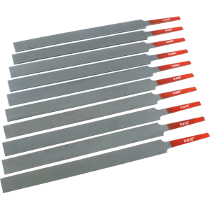 Nut File - Edge-Cut, 10 Sizes