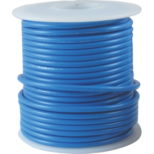 Wire - Hook-Up, 22 AWG, 50' roll, Blue