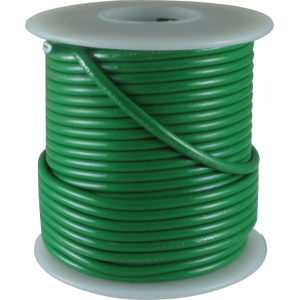 Wire - Hook-Up, 22 AWG, 50' roll, Green