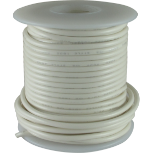 Wire - Hook-Up, 22 AWG, 50' roll, White