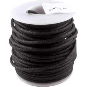 Wire - Hook-Up, Lacquered, 50' Spool, Black