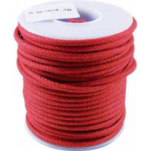 Wire - Hook-Up, Lacquered, 1000' Spool, Red, 600 Volt