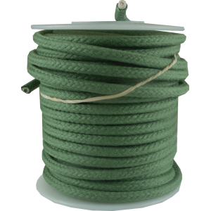 Wire - Hook-Up, Lacquered, 25' Spool, Green, 600 Volt