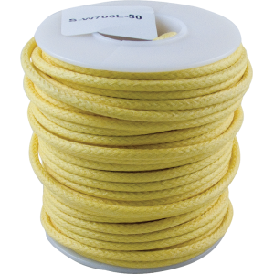 Wire - Hook-Up, Lacquered, 1000' Spool, Yellow