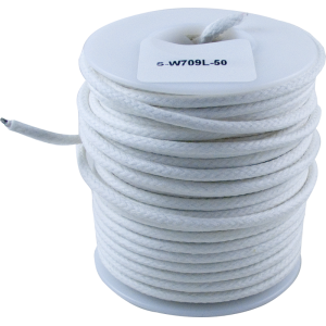 Wire - Hook-Up, Lacquered, 50' Spool, White