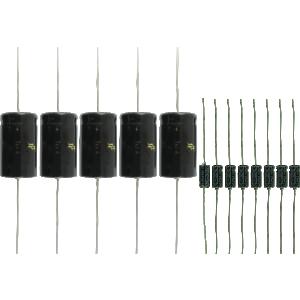 Cap Set Set Type: Premium Black face for Fender Princeton Reverb AA1164