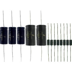 Cap Set - for Fender Super Reverb AB763 (Black face)
