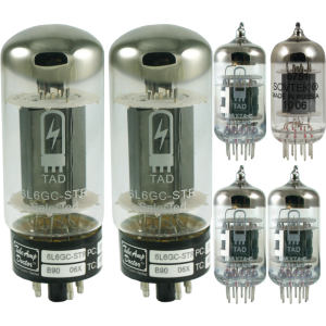 Tube Complement for Carol-Ann OD2 50W 6L6