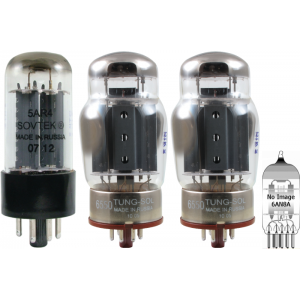 Tube Set - for Dynakit Mark III Mono Amplifier
