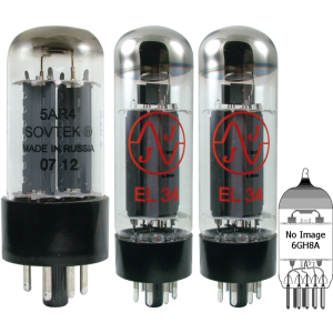 Tube Set - for Dynakit Mark IV Mono Amplifier