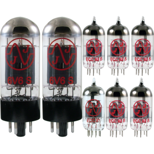 Tube Complement for Fender Deluxe Reverb - 1983