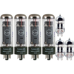 Tube Complement for Marshall 100w, Tung-Sol brand